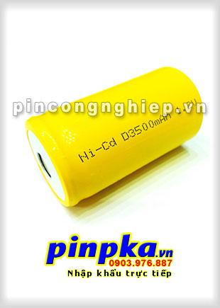 Pin Sạc Công Nghiệp-Pin Cell 1,2v NiCD D 3500mAh